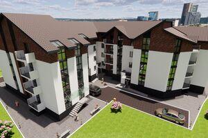 Продається 1-кімнатна квартира 44.6 кв. м у Тернополі