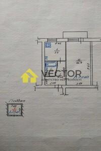 Продается 1-комнатная квартира 31 кв. м в Полтаве