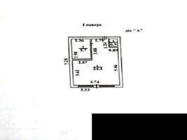 Продається будівля / комплекс / павільйон 33 кв. м в 1-поверховій будівлі