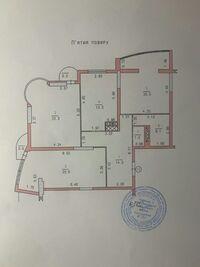 Продается 3-комнатная квартира 102.2 кв. м в Хмельницком