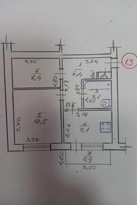 Продается 1-комнатная квартира 36 кв. м в Ужгороде