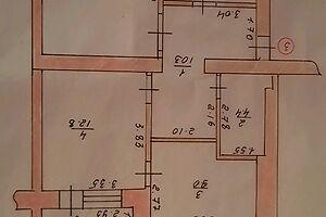 Продається 3-кімнатна квартира 68.1 кв. м у Тернополі