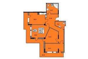 Продается 3-комнатная квартира 113.66 кв. м в Черкассах