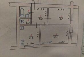 Продается 2-комнатная квартира 47 кв. м в Хмельницком