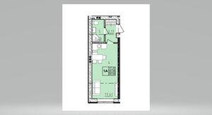 Продается 1-комнатная квартира 30 кв. м в Ирпене