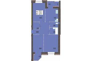 Продается 3-комнатная квартира 82.73 кв. м в Хмельницком