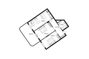 Продается 2-комнатная квартира 83 кв. м в Ужгороде