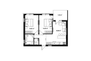 Продается 2-комнатная квартира 66.7 кв. м в Ужгороде
