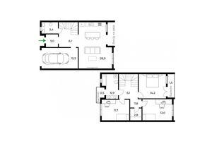 Продається будинок 2 поверховий 122 кв. м з терасою
