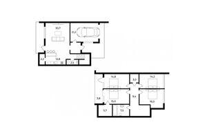 Продается дом на 2 этажа 163 кв. м с балконом