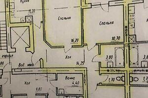 Продается 3-комнатная квартира 99 кв. м в Черновцах