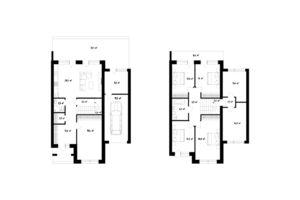 Продается дом на 2 этажа 207 кв. м с камином