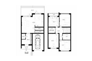 Продается дом на 2 этажа 167 кв. м с мансардой