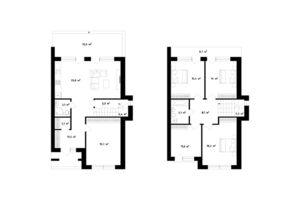 Продается дом на 2 этажа 155 кв. м с баней/сауной