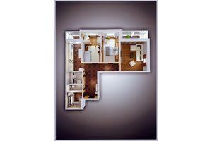 Продается 3-комнатная квартира 89.1 кв. м в Херсоне