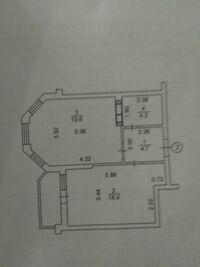 Продается 1-комнатная квартира 49 кв. м в Вышгороде