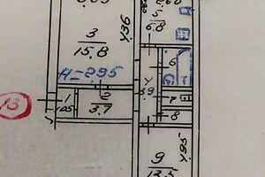 Продается 2-комнатная квартира 53 кв. м в Мариуполе