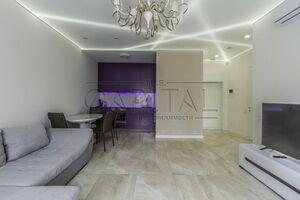 Сдается в аренду 1-комнатная квартира 69 кв. м в Киеве