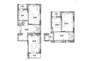 Продается 4-комнатная квартира 140.16 кв. м в Киеве