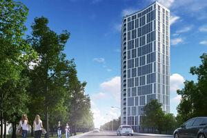 Продается 1-комнатная квартира 49.47 кв. м в Киеве
