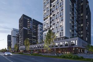 Продается 1-комнатная квартира 44.36 кв. м в Вышгороде