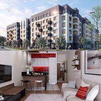 Продается 1-комнатная квартира 24.81 кв. м в Ирпене
