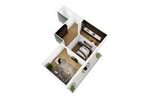 Продається 2-кімнатна квартира 79.5 кв. м у Херсоні