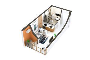 Продается 1-комнатная квартира 21 кв. м в Ирпене