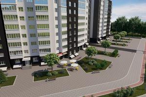 Продается 2-комнатная квартира 66.38 кв. м в Черкассах