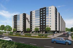 Продается 1-комнатная квартира 41.87 кв. м в Черкассах