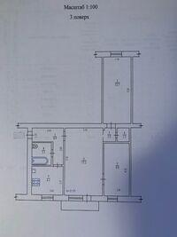 Продается 3-комнатная квартира 56 кв. м в Полтаве