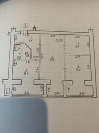 Продается 3-комнатная квартира 70 кв. м в Сумах