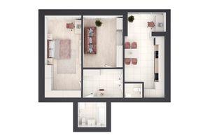 Продается 2-комнатная квартира 71 кв. м в Ровно