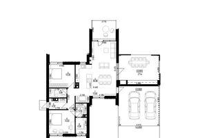 Продается дом на 2 этажа 128 кв. м с участком