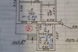 Продается 3-комнатная квартира 51.9 кв. м в Мариуполе