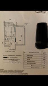 Продается 1-комнатная квартира 50 кв. м в Киеве
