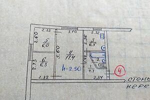 Продается 3-комнатная квартира 43.6 кв. м в Мариуполе