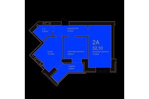 Продається 2-кімнатна квартира 71.2 кв. м у Ірпені