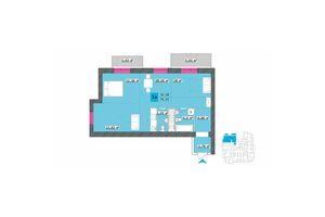 Продается 3-комнатная квартира 76.07 кв. м в Харькове
