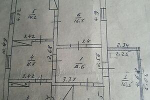 Продається одноповерховий будинок 92.3 кв. м з верандою