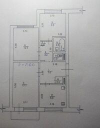 Продається 3-кімнатна квартира 64 кв. м у Василькові