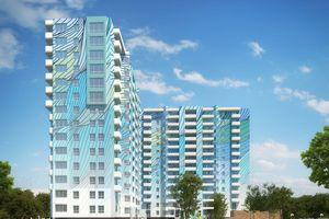 Продается 1-комнатная квартира 48.47 кв. м в Харькове