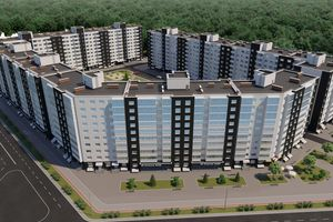 Продается 1-комнатная квартира 36.38 кв. м в Черкассах