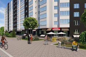 Продается 1-комнатная квартира 39.36 кв. м в Черкассах