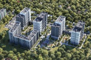 Продается 3-комнатная квартира 71.09 кв. м в Вышгороде