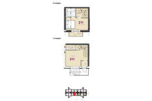 Продается 2-комнатная квартира 77.41 кв. м в Броварах