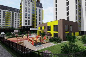 Продається 1-кімнатна квартира 44.2 кв. м у Тернополі