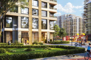 Продається 2-кімнатна квартира 70.93 кв. м у Броварах