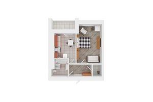 Продается 2-комнатная квартира 57 кв. м в Киево-Святошинске