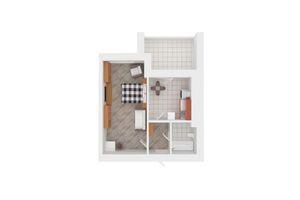 Продается 2-комнатная квартира 59 кв. м в Киево-Святошинске